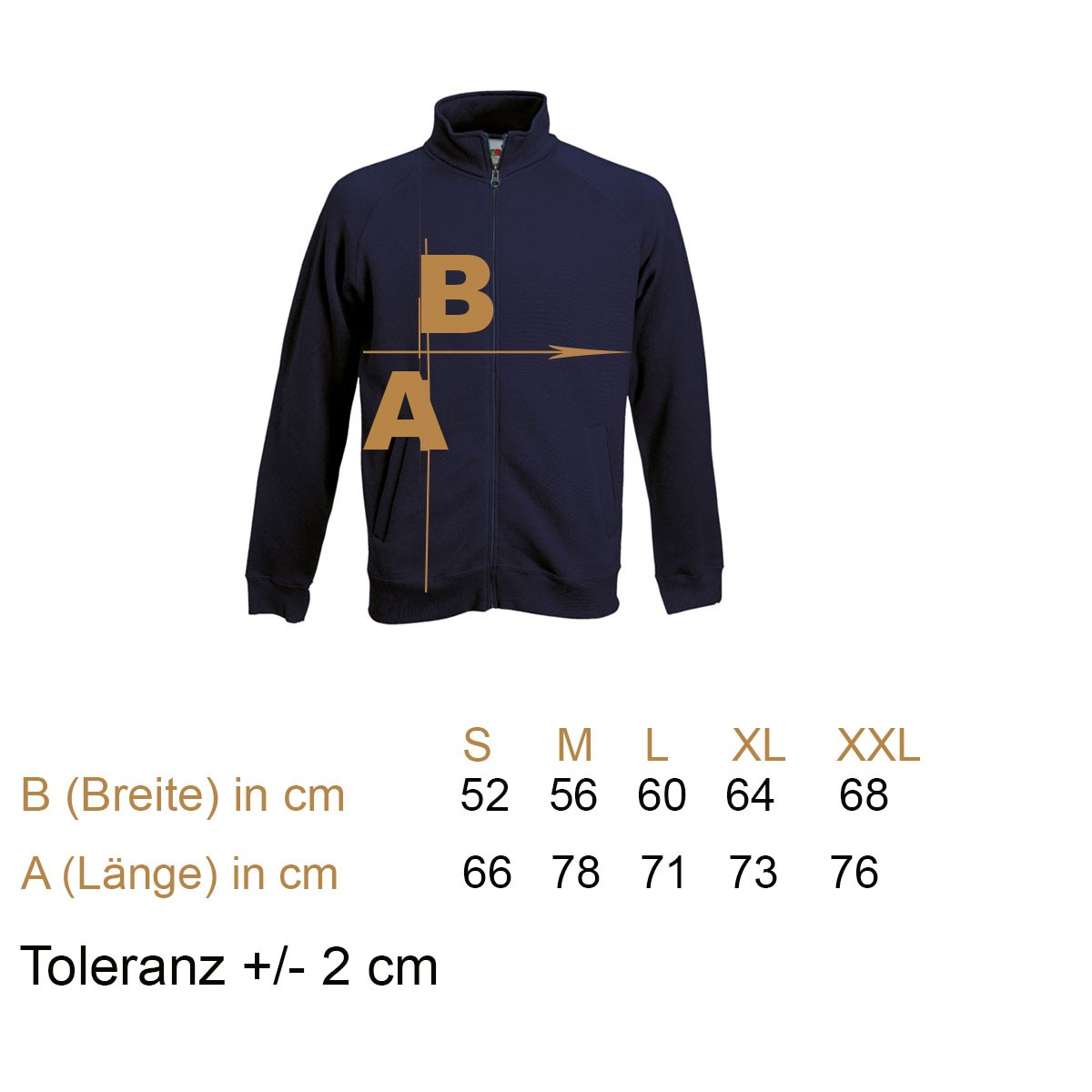 Premium Sweat Jacket FoL
